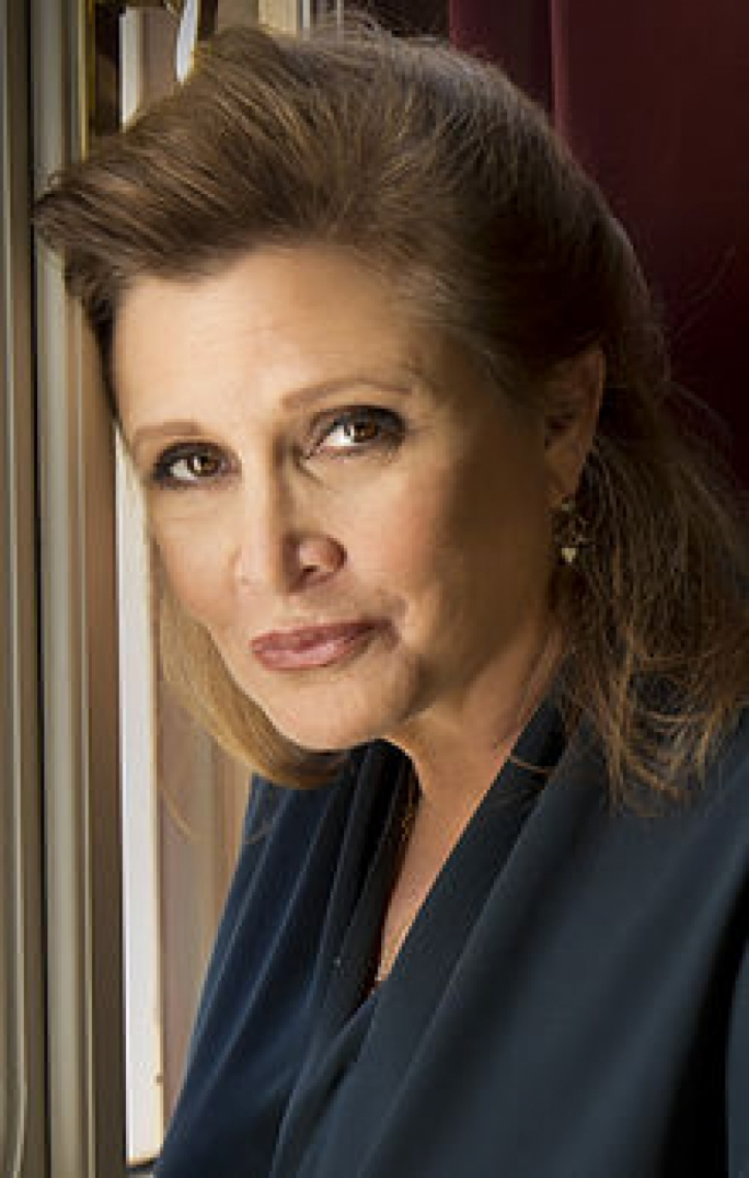 Carrie Fisher in 2013